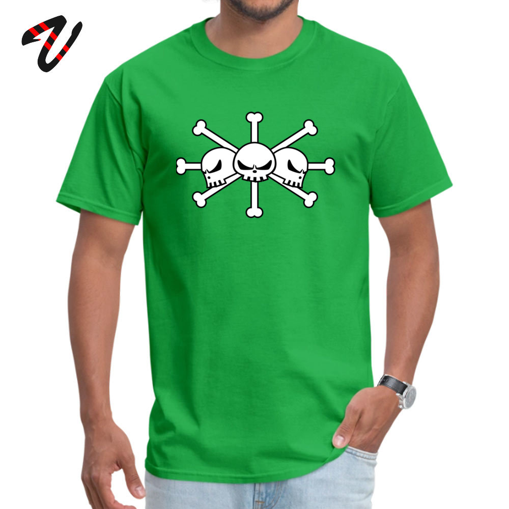 Geek Short Sleeve Tees Labor Day Round Neck Pure Cotton Men Top T-shirts BlackBeard Jolly Roger Geek Tops T Shirt Cheap BlackBeard Jolly Roger 2920 green