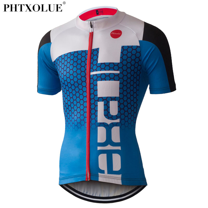 PHTXOLUE Cycling Jerseys Summer Breathable MTB Ropa Maillot Ciclismo Bike Clothes Bicycle Wear Cycling Clothing