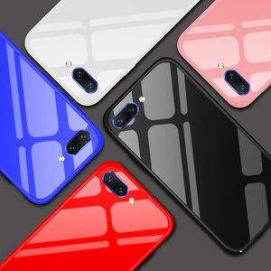 Image 5 - Honor 10 lujo Slim caja de Color sólido Coque para Huawei Honor 10 caso duro cubierta Funda para Huawei Honor10 v10 V9 caso