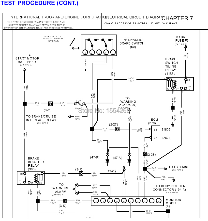 International Trucks Manuals And Diagrams on peterbilt wiring diagrams