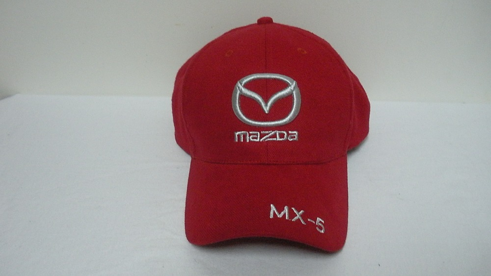 mazda baseball hat hats new wholesale profession racing cap leisure car black 3