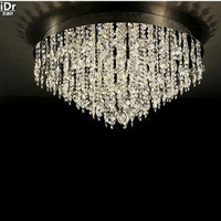 Polished Chrome High Quality Crystal 24 Lights Crystal Ceiling Mount Y9022 80cm W X 36cm H