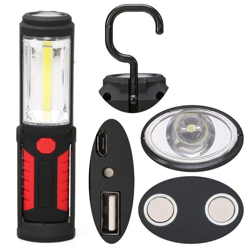 New super bright usb de charge led lampe de poche torche - Super lampe de poche ...