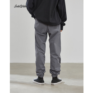 Image 4 - SODAWATER Men Jogger Streetwear 2019 Autumn Winter Loose Baggy Pants Men Hip Hop Casual Solid Color Trousers Track Pants 93353W