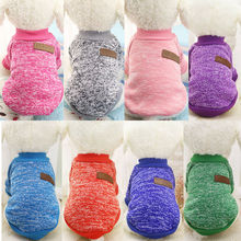 D48 2017 New Winter Pet dog cats Sweater Hoodies clothes Warm Puppy dog outwear woolen sweater Costume for Samoyed Hiromi