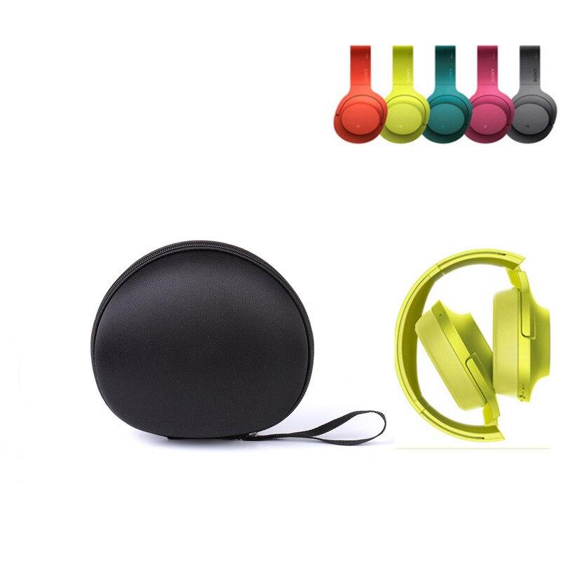 Black Shockproof EVA Storage Bag for Sony MDR-100ABN Headphone Storage Carry Bag