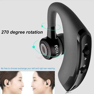 Image 3 - MEUYAG 2019 New V9 Wireless Bluetooth Earphone Car Handsfree Business Headset with Mic Ear hook Earpiece for iPhone Samsung
