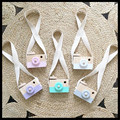 10 PCS INS Baby Kids Cute Wood Camera Children Fashion Clothing Accessory Room Decor Safe And Natural Wooden Camera