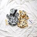 2017 Весна Раздел детская Clothing С Длинными Рукавами Детские Hat Восхождение Кактус Треугольник Одежда Onesie Детская Одежда Мальчика