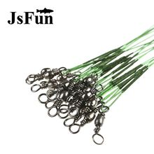 100pcs Fishing Line for Lead Steel Fishing Wire Fishing Cord Rope Fishing Leader Trace the Lines Spinner Shark Expert Leash L231