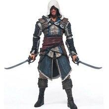 2017 Горячие Продажи фигурку Assassins Creed Assassins игры куклы Эдвард Канви Косплей Новый в Оригинальной Коробке HT1930