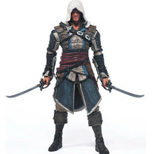 2017 Hot Sale Action figure Assassins Creed Assassins's game doll Edward Canvey Cosplay New in Orginal Box HT1930