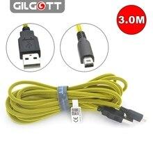 כבל טעינת USB 3 מטר כבל חשמל מטען עבור DSi 2DS ניו 3DS XL/LL