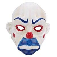 Смола Маска для взрослых страшно Бэтмен Джокер клоун грабителя фильм маска Темный рыцарь Косплэй Хэллоуин маскарад праздничный костюм