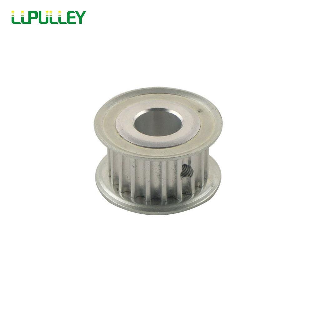 LUPULLEY 5 M 20 t polea 21mm ancho 5mm/6mm/6,35mm/ 8mm/10mm/12mm/12,7mm/14mm/15mm/16mm /17mm pozo de la correa dentada