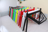Muscular 700C frame road bicycle aluminum alloy frame Fixed Gear Bike frame fork 52cm 48cm bicycle frame multicolour