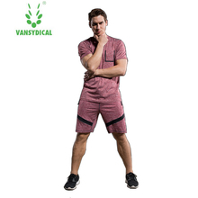Brand Sportswear men's gym workout clothes quick dry fitness training tracksuits 2pcs jogging basketball running suits for men