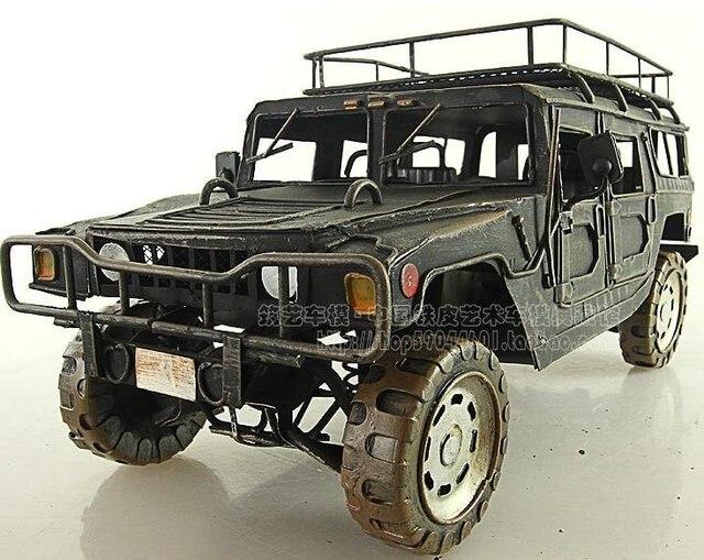 Vintage car models Hummer H1(Iron) Handmade Free shipping
