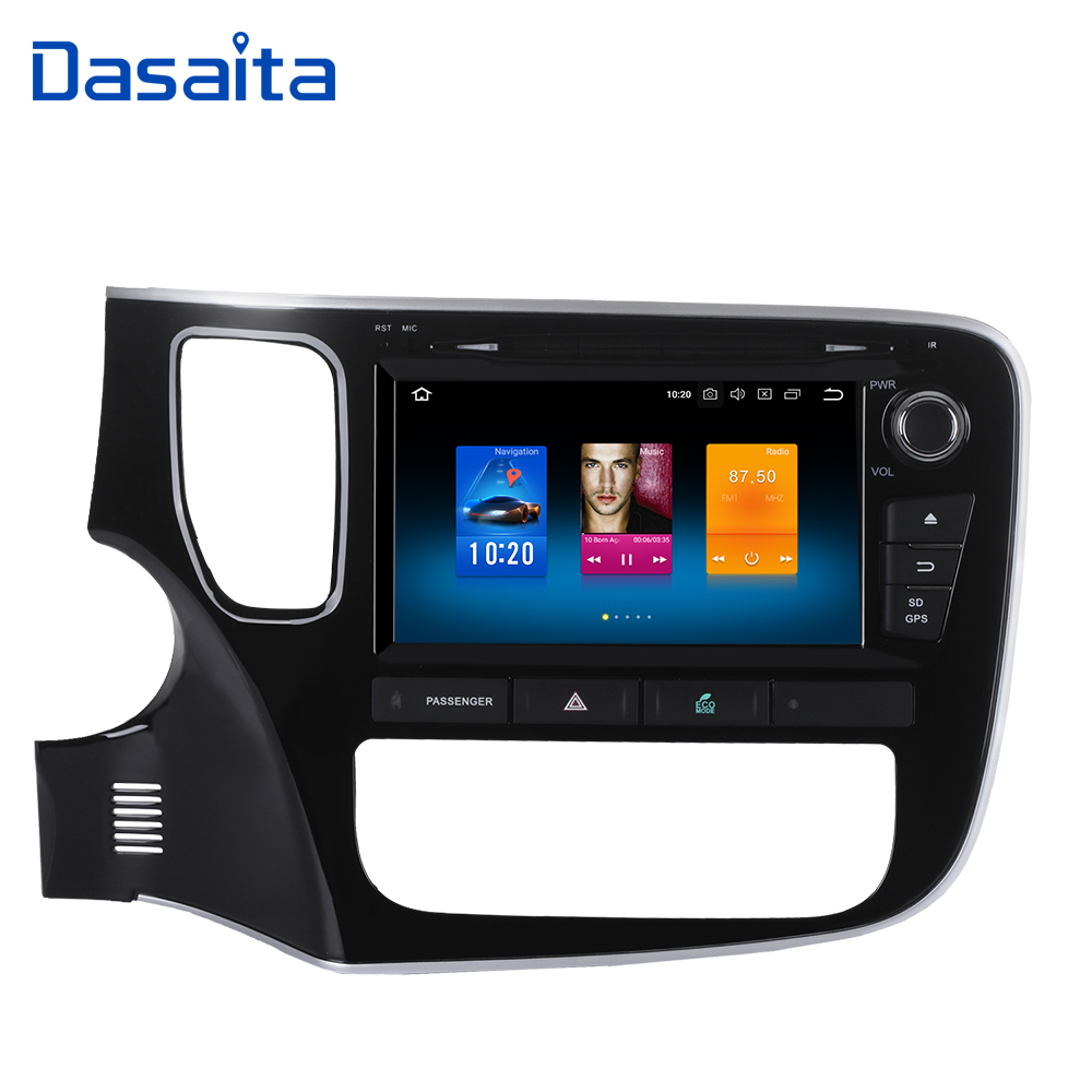Dasaita 8 Android 9 0 Car DVD Player for Mitsubishi Outlander 2014 2015 with 4G 32G