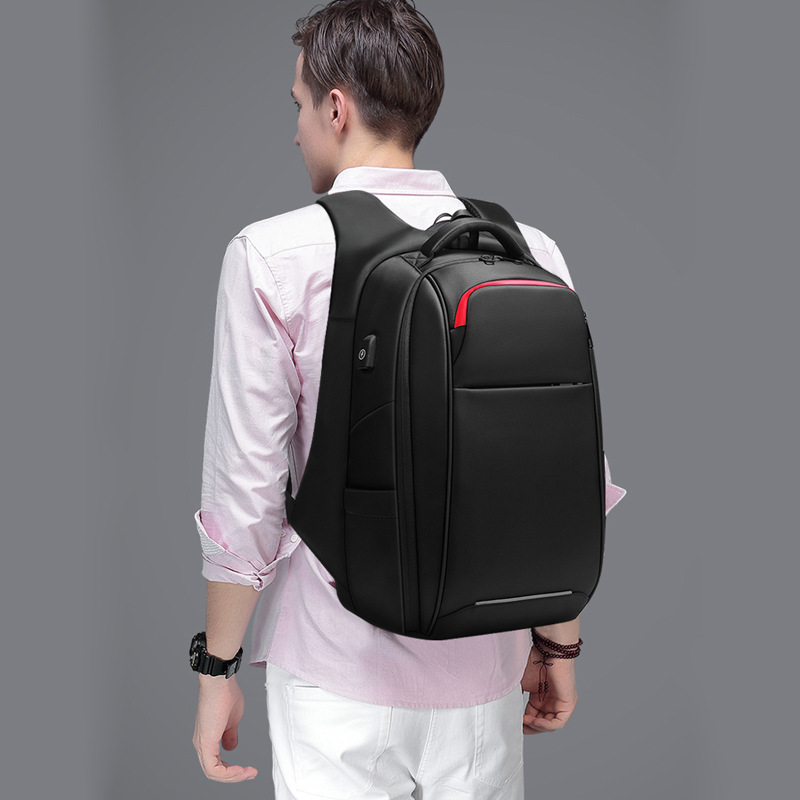 Homme garde fonction affaires voyage sac sac à dos décontracté grande capacité fonctionnel mode paquet