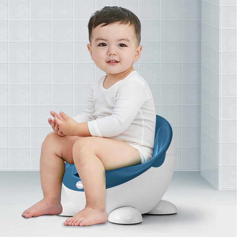 Baby Toilet Seat Cute Egg Travel Pot Toilet Portable Training Boy Girls Child Potty For Free Potty Brush