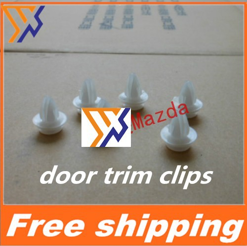 For Mazda 6 3 2 M3 M6 Core wing door trim clips door plate buckle clip