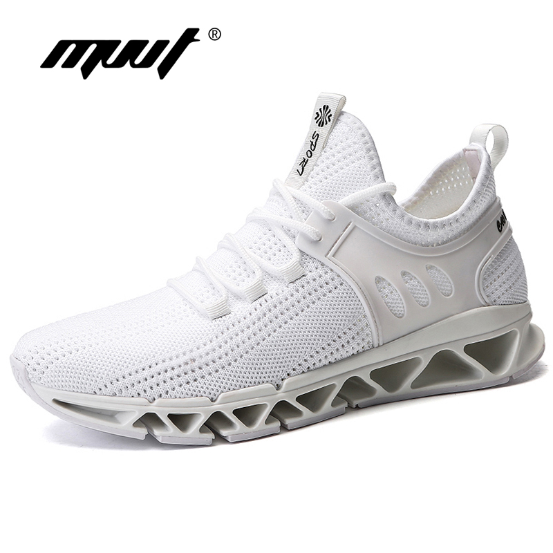 Summer Breathable Light Running Shoes For Men Cushioning High Quality Men Sneakers Fly wire Sport Shoes