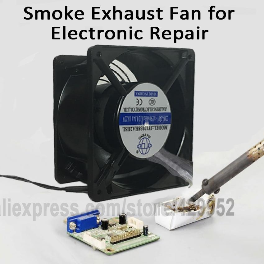 Smoke Ventilator Exhaust Fan Blower Iron Hot Air Gun Soldering Welding Station  For BGA IC Chip PCB Repair 550w laser exhaust dust and smoke blower