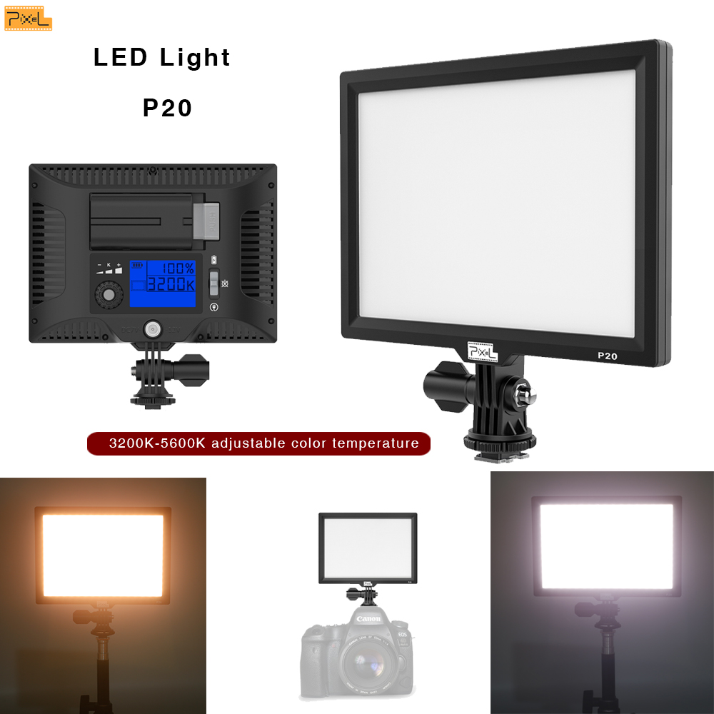 LED-uri lumini de fotografiat Pixe P20 SLR camera video video Studio - Camera și fotografia - Fotografie 6