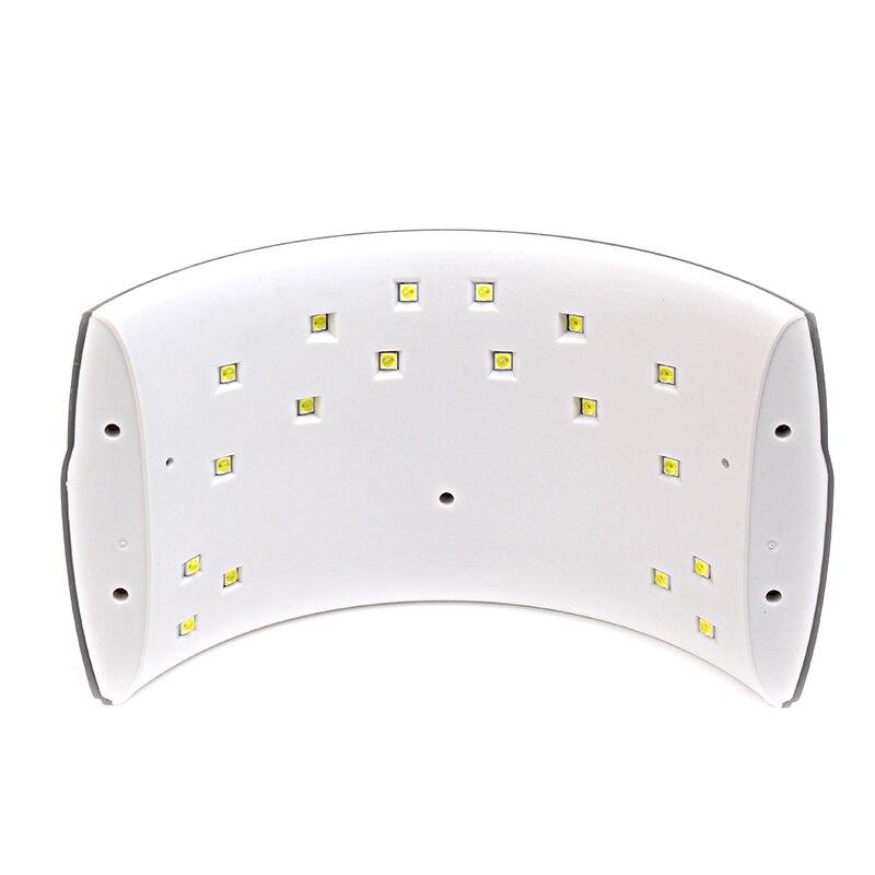 Secadores de Unha preto lâmpadas led uv gel Modelo Número : Sunq18