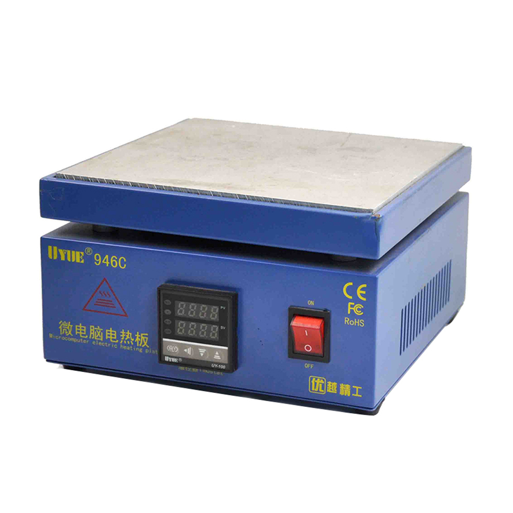 946C Electronic Hot Plate Preheating Statio Heating Led Lamp Soldering Station Heating Work For Phone Lcd Screen Separate