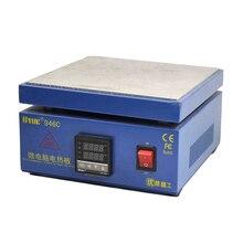 Электронная паяльная станция 946C с горячим нагревом, нагревательная светодиодная лампа, нагрев, работа для телефона, ЖК экран, отдельный