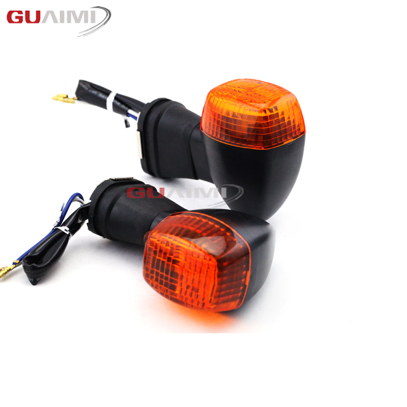 Front Turn Signal Light Indicator Lamp For KAWASAKI ZXR250 ZXR400 ZXR750 ZXR KLE 250/400/500 ZRX1200R ZRX1200S Motorcycle image