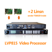 large led display video wall processor lvp815s video matrix switcher for led full video display switcher with two ts802d