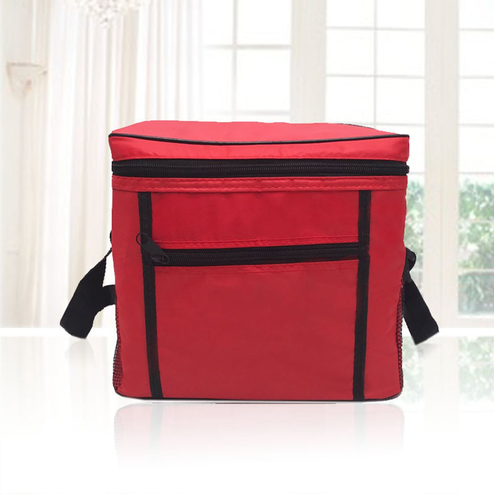 Image 3 - Portable Cooler Bag For Food Preservation Storage Picnic Thermal Insulation Bags Travel Nylon Women Lunch Bags-in Picnic Bags from Sports & Entertainment