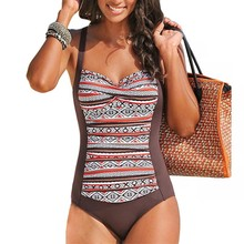 Nature Womens One Piece Bathing Suit Tummy Control Swimsuit Rose Red