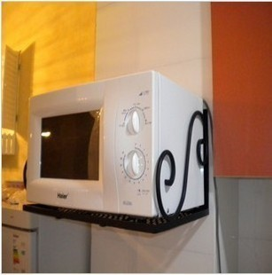 Freeshipping Iron Microwave Shelf Oven Rack Microwave Oven