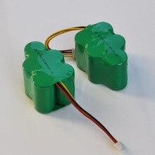 2 шт. 6 В Перезаряжаемые SC Ni-MH Батарея 3800 мАч Для Ecovacs Deebot Deepoo пылесос 650 660 680 710 720 730 760 D73 D76 D62