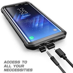 Image 5 - SUPCASE для Samsung Galaxy S8 Plus Чехол со встроенной защитной пленкой для экрана UB Pro прочная кобура для всего тела для Galaxy S8 +