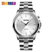 SKMEI 1324 Men Quartz Watch Hot Design Fashion Business Wristwatches Women Mens Watch Time Date SOS