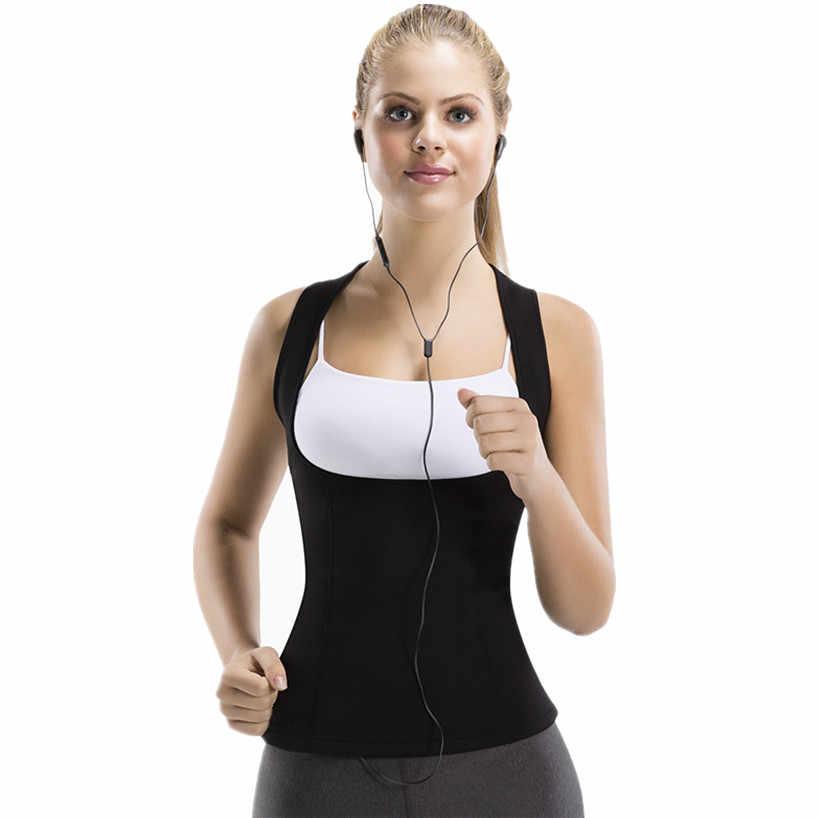 Женский формирователь неопрена Пот Сауна новый формирователь тела жилет тренажер для талии утягивающий рубашка Корректирующее белье похудение корсет для талии