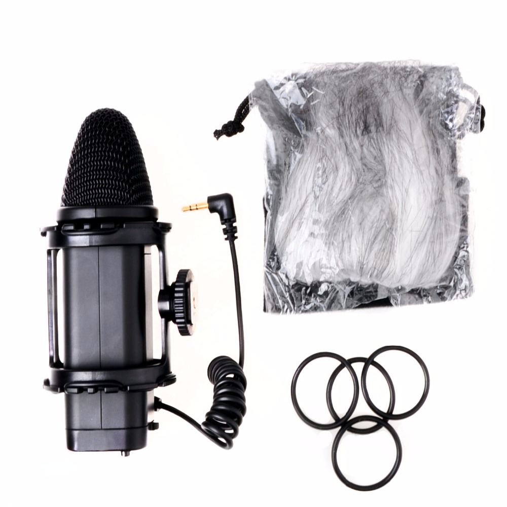 BOYA BY-V02 Stereo X/Y Mini Camera Condenser Microphone for Canon for Nikon DSLRS Camcorder Video Camera