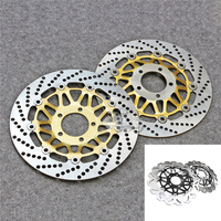 Floating Front Brake Disc Rotor For Motorcycle Suzuki RG125 Gamma & Bandit GSF250 GJ77A RGV250 GSX R400 GK76A New