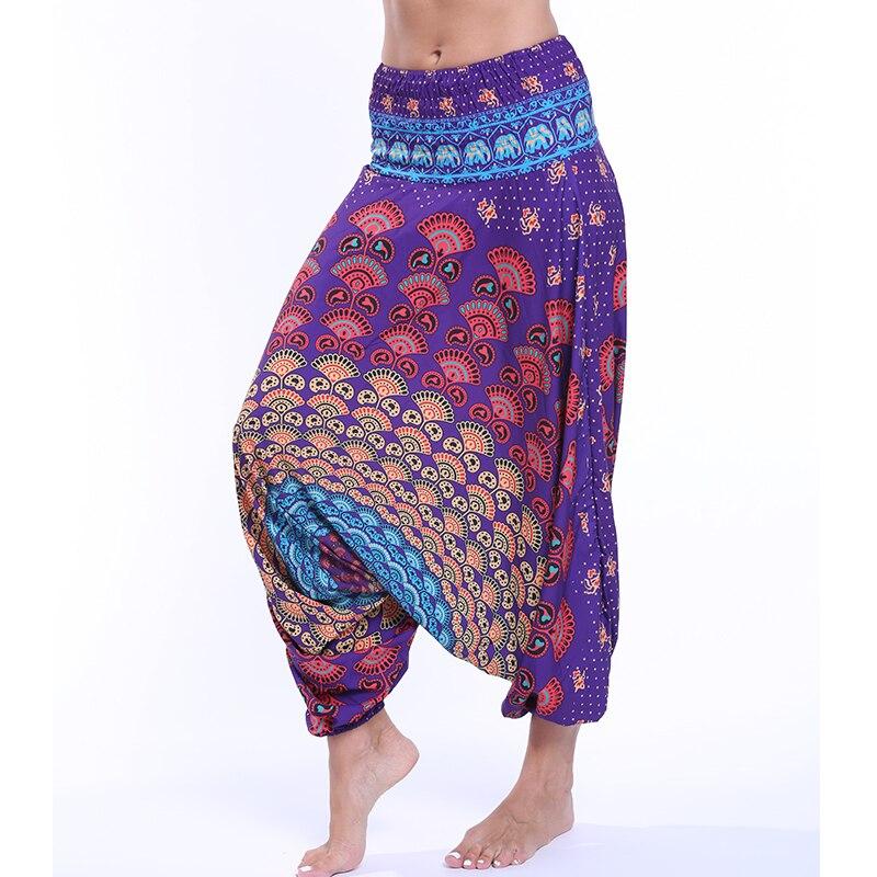 Ladies Loose Indian Yoga Pants Women Leggings Dancing