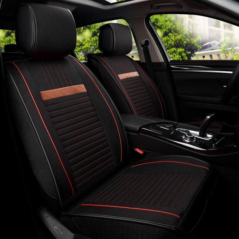 car seat cover covers auto automobiles for Seat cordoba toledo ateca Skoda Octavia 1 2 a5 a7 RS Superb 2 3