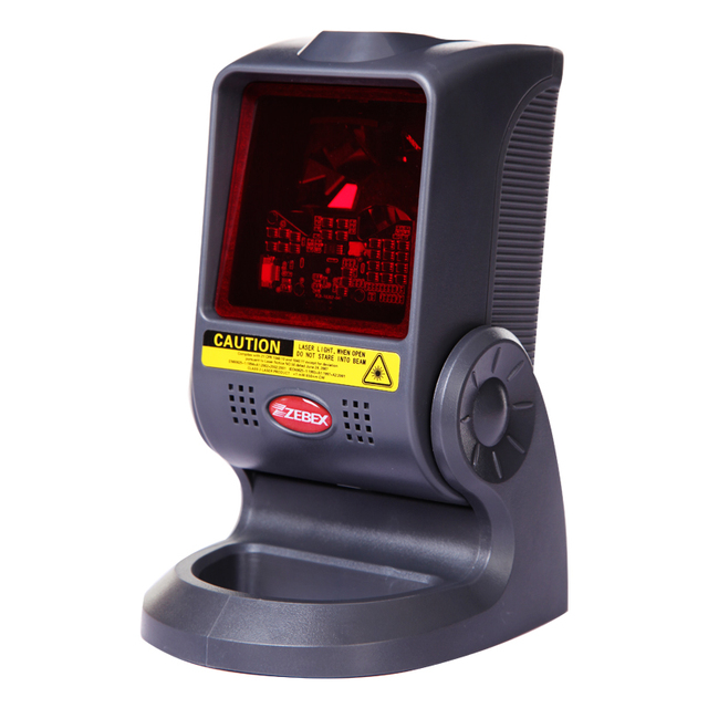 Omni-Directional 20 lines laser scanner USB Desktop 1D Barcode reader with High Stability widely used in supermarket