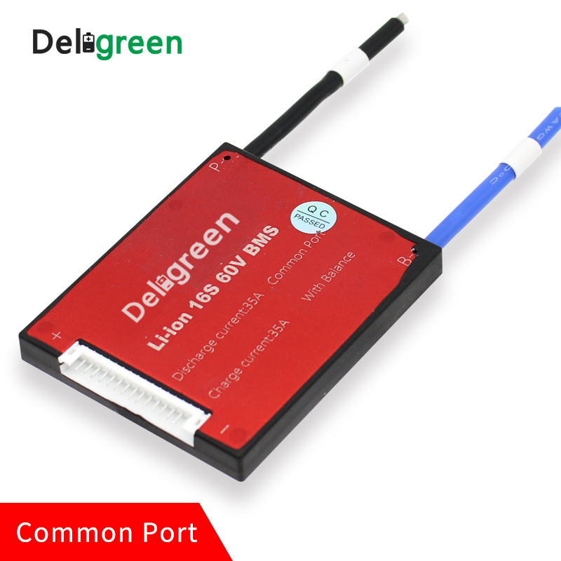 16 s 45A 60A PCM/PCB/BMS für 48 v LiFePO4 Batterie Pack für Elektro ...