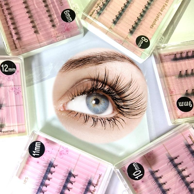 42cfb9b58b6 False Individual Eyelash Clusters Professional Make up Individual Eye Lashes  Accessories Grafting Eyelash For Beauty Salon Use