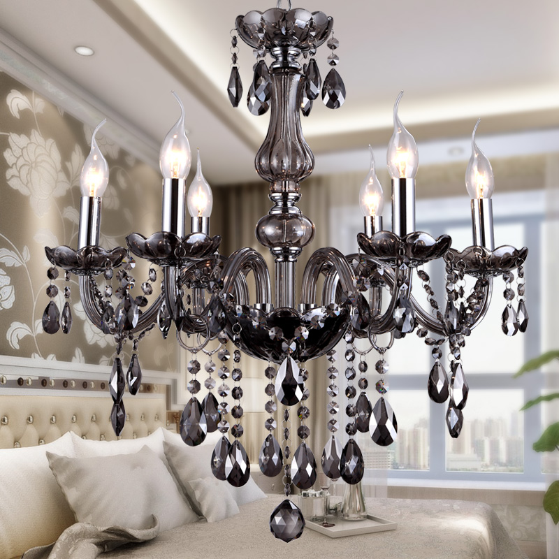 Luxury Crystal Chandelier Light Living Room Lamp lustres de cristal indoor Lights Crystal Pendants For Chandeliers Free shipping потолочна лстра mantra zen chrome 1422