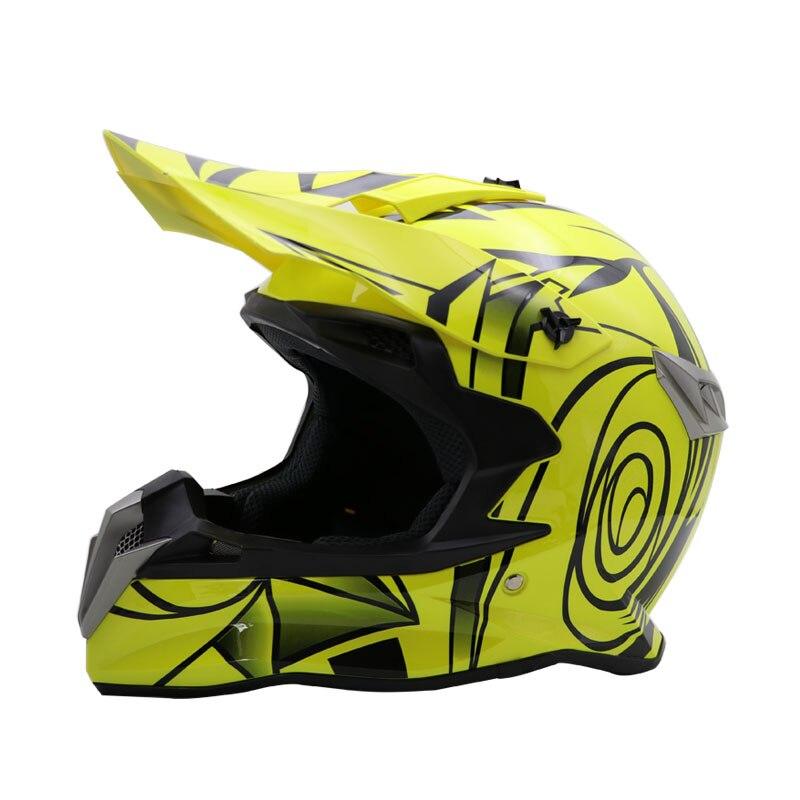 Ny modedesign Off-Road hjälm motocross hjälm professionell Downhill - Motorcykel tillbehör och delar - Foto 2